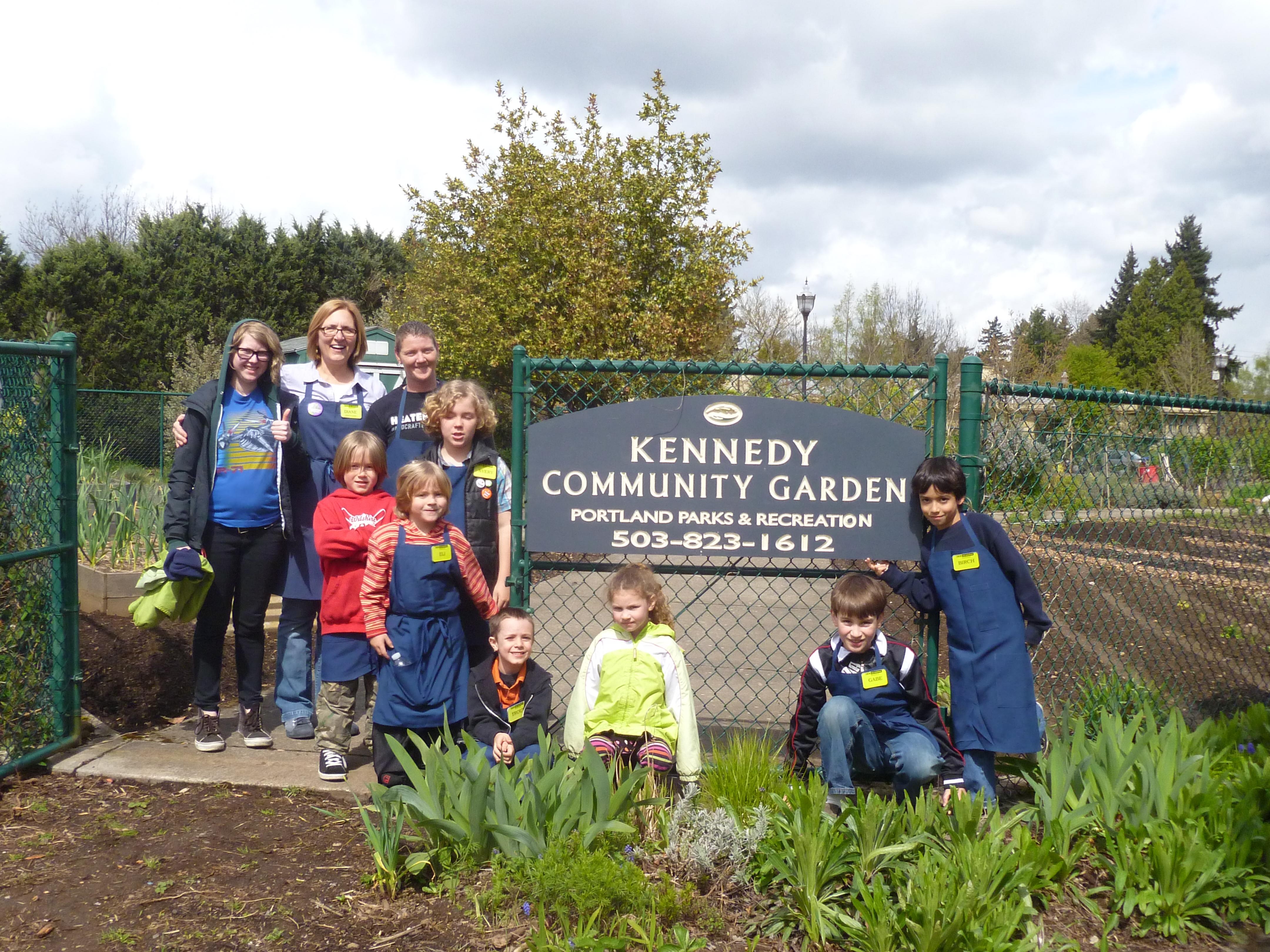 Kennedy Community Garden part of feature article about Autumn Garden Chores