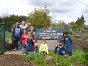 Garden-based Education in a local Community Garden