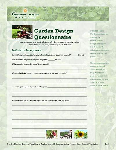 Denissia E  Withers | Common Sense Gardens